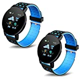 Infinizy {Buy 1 GET 1 Free} Youth Choice A8 Smart Watch Heart Rate Monitor Bracelet Wristband Watch for Mens/Activity Tracker/for Boys/Girls (Pack of 2)