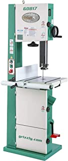 """Grizzly Industrial G0817-14"""" Super HD 2 HP Resaw Bandsaw with Foot Brake"""
