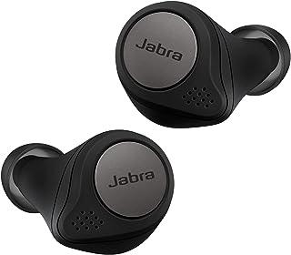Jabra Elite Active 75t - Auriculares Deportivos inalámbricos con Cancelación Activa de Ruido y batería de Larga duración para Llamadas y música – Negro Titanio