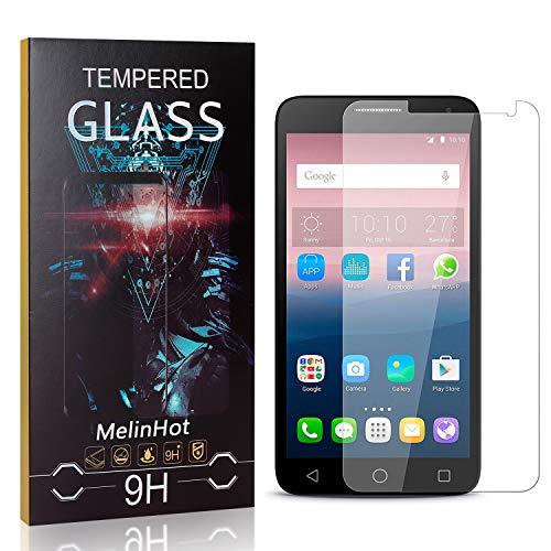 MelinHot Vetro Temperato per Huawei Ascend Y550, Nessuna Bolla, 9H Durezza, 0.26mm HD Anti Graffio Pellicola Protettiva in Vetro Temperato per Huawei Ascend Y550, 4 Pezzi