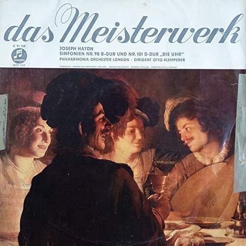 Joseph Haydn - The London Philharmonic Orchestra , Otto Klemperer - Sinfonien Nr. 98 B-Dur Und Nr. 101 D-Dur