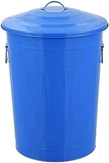 LEFJDNGB Trash Can,Environmental Classification Metal Trash Bin Outdoor Large-Capacity Fashion with Lid Trash Can Spray Paint, 3560cm