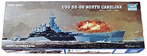 entrega gratis Trumpeter 1 350 - USS BB-55 North Carolina Battleship Battleship Battleship - TRU05303 by Trumpeter  tienda de pescado para la venta
