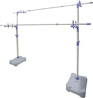 ekans(エカンズ) ステンレス 伸縮式ものほし台 ブローベース付き KSB-100