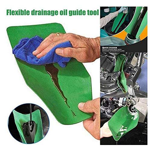 PUTOWUT Flexibler Öltrichter Ölführungswerkzeug Trichter Ölfilter Wasserölablasswerkzeug Für Benzin, Wasser, Bremsflüssigkeit, Dünger, Chemikalien