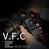 Outil de diagnostic multimètre de pince Doolland CM81 6000 Compte numérique DC