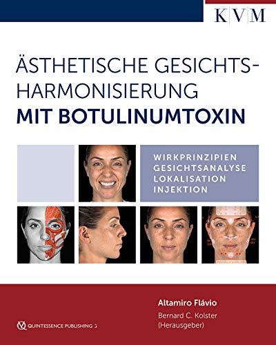 Ästhetische Gesichtsharmonisierung mit Botulinumtoxin: Wirkprinzipien - Gesichtsanalyse - Lokalisation - Injektion