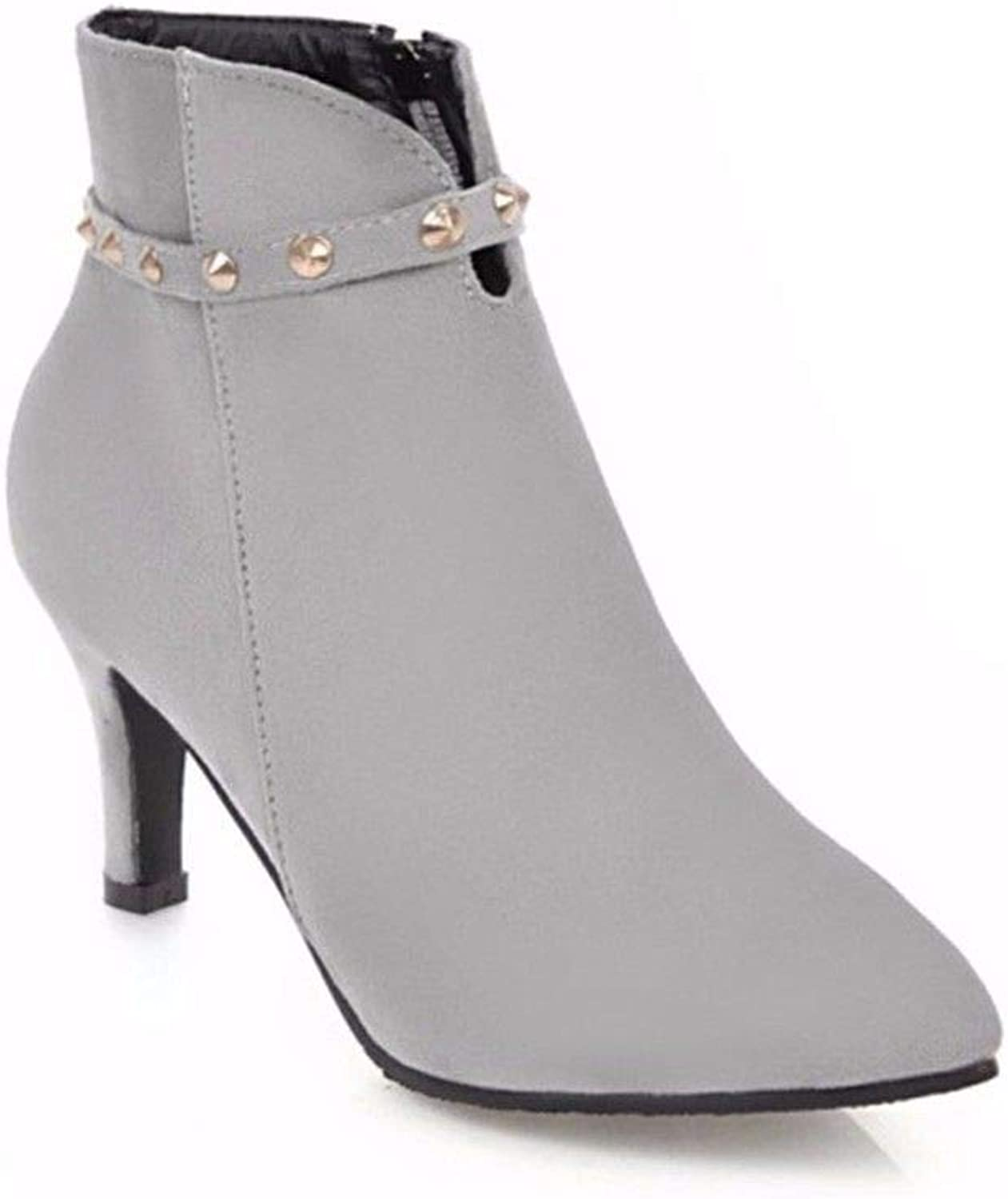 European and American high Heels, high Heels, Short Boots and Big Size Women shoes