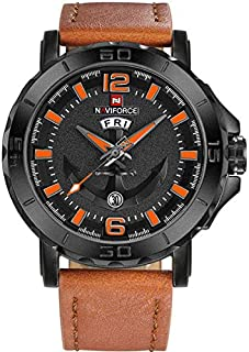 Naviforce Casual Watch For Men Analog Leather - NF9122.5