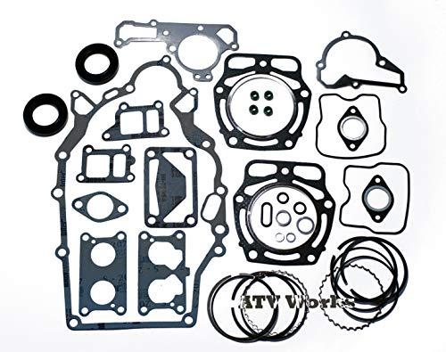 Compatible with John Deere Gator / FD661 / FD661D / FD620 & John Deere Tractor 425 & 445 Engine Rebuild Kit with Piston Rings