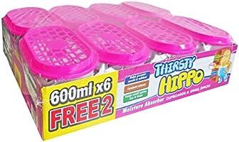 Thirsty Hippo Dehumidifier Moisture Absorber, 600 Ml, 4.8 liters