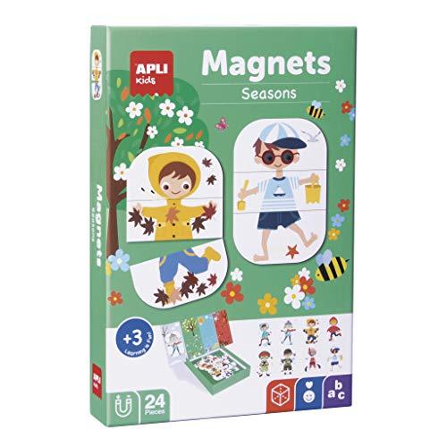Oferta de APLI Kids- Estaciones Juego Magnético, Multicolor (17160)