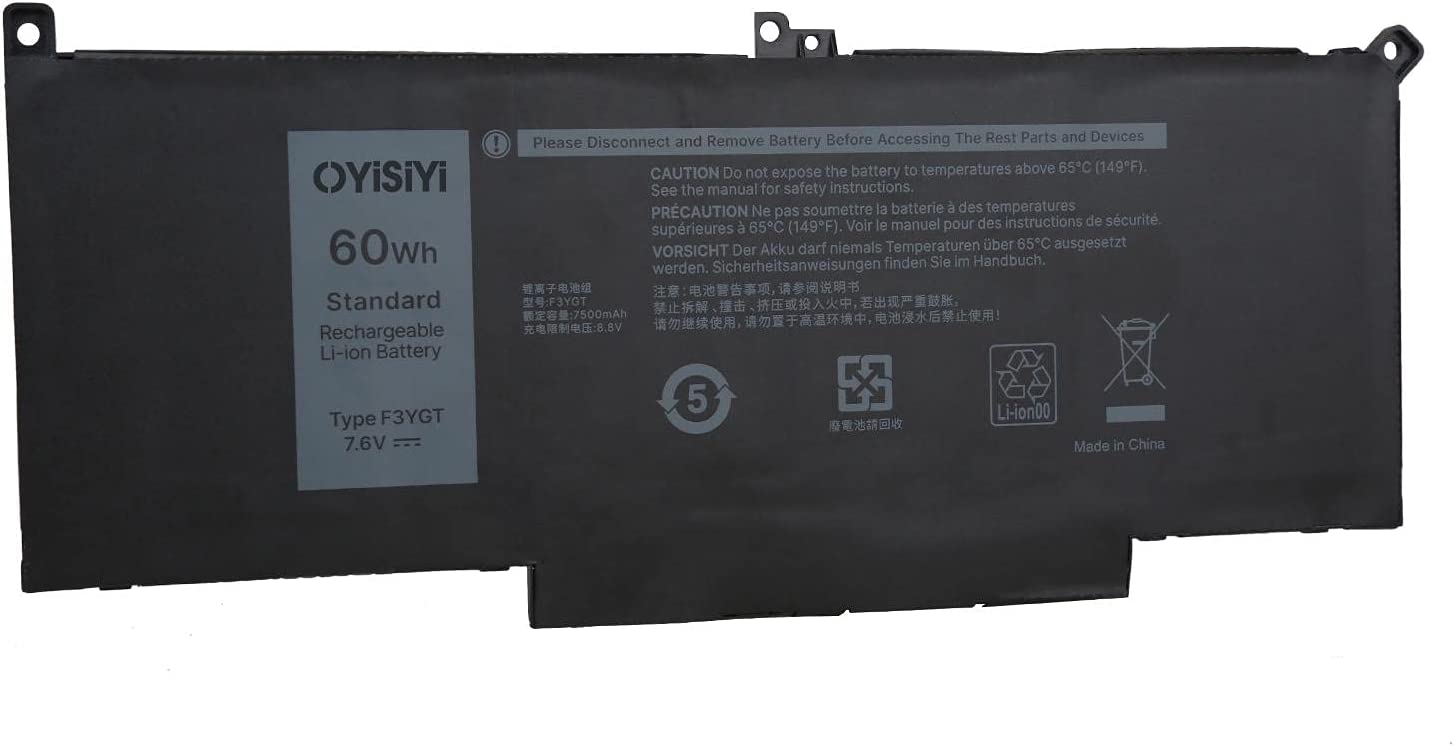 OYISIYI overseas New F3YGT Battery for Dell Latitude 12 7000 13 Popular standard 7280 7290