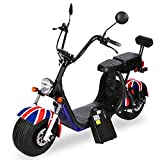 GRXXX New Electric Car 18 Inch Wide Tire Lithium Battery Bike Electric Scooter Battery Car Scooter