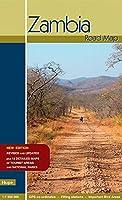 Zambia Road Map: GPS-taugliche Strassenkarte im Massstab 1:1 500 000 mit 210 GPS-Koordinaten. Strassenkarte fuer Sambia mit zusaetzlichen Nationalpark-Detailkarten und Ortsplaenen