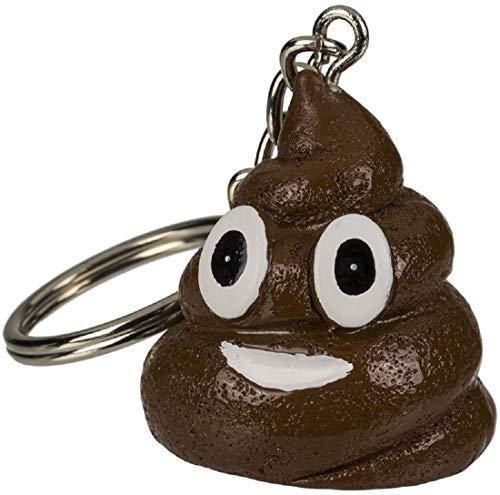 Porte-clés en forme de crotte - Pups - Poo - Winnie l'ourson - Cadeau - Enfant - Jouet - Accessoire de farces