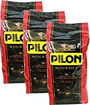 Pilon Whole Bean Coffee 2lb bag Pack of 3