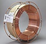 Schutzgas Schweißdraht Stahldraht SG2 1,0 mm CO2 G3Si1 MIG/MAG 0,5-15kg D100 D200 K300 (K300 15 Kg)