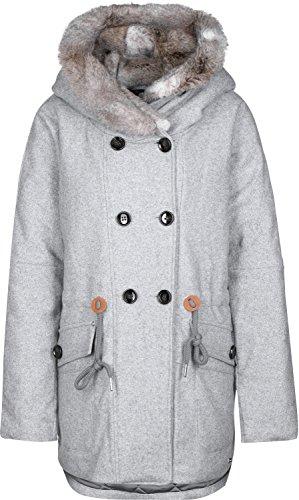 Bench Argot, Abrigo para Mujer, Grau (Mid Grey Marl GY001X), X-Large