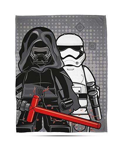 LEGO Star Wars 'Seven' Couverture Polaire Motif imprimé – Large, Multicolore