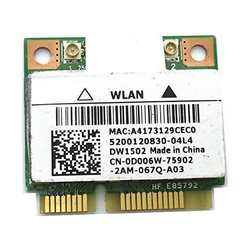 Für N5040 WLAN-Karte DW1502 Atheros AR9285 AR5B95 Mini PCI-e halbe Größe Karte