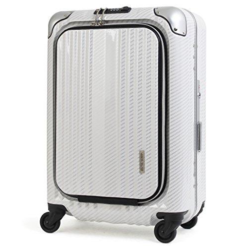 スーツケース 機内持ち込み対応 人気ブランド レジェンドウォーカー va-xyz-6203-50-ts Amazon限定オリジナルモデル No.6203-50 ラフカーボンホワイトシルバー