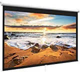 Best Carls Place Projection screens - Projector Screen 100 Inch 16:9 - Auto-Locking Portable Review