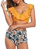 Tempt Me Women's Ruffle Bikini Flounce Bottom...