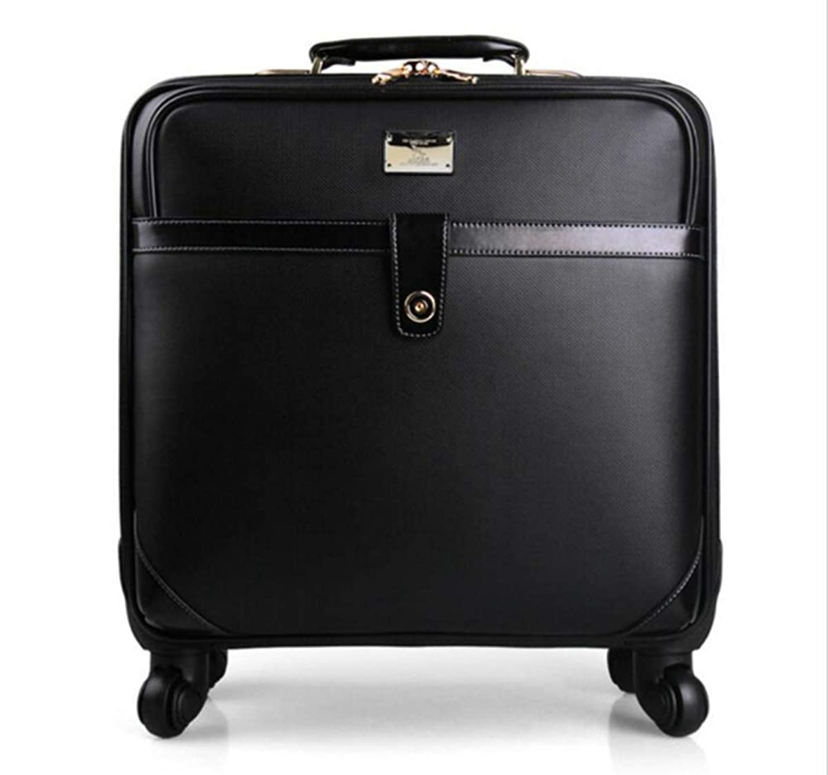 CHERRIESU Wheeled Luggage Business, Laptop Trolley Bag 16 inches /20inches Computer Bag on 4 Wheels Rolling Laptop Bag Suitcase Carry On Luggage