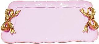 lqgpsx Plateaux de Service rétro Bowknot Plaque décorative pour Bijoux de collation de gâteau de Dessert