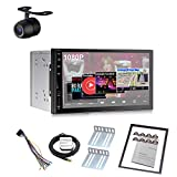 GPFATTRY Car Stereo with Bluetooth Double Din Android 8.1 2+16g GPS Navigation GPS Navi Car Stereo