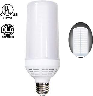 50W LED Corn Light Bulb,(350W Equivalent) 6000 Lumens 5000K Daylight White LED Street and Area Light E26 Medium Base for Workshop Office Street Light UL/DLC Approved 5-Year Warranty