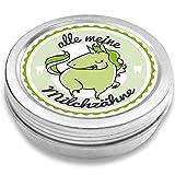 Fans & Friends - Caja para dientes de leche, diseño de unicornio verde verde