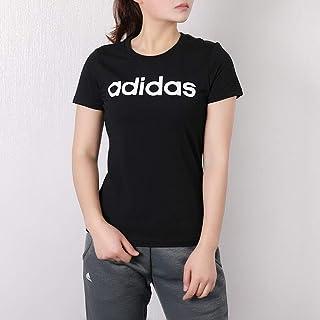 adidas 阿迪达斯neo女装 春季 时尚运动服上衣透气半袖宽松休闲短袖T恤