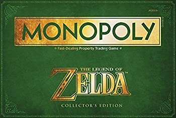 Nceonshop TM  MONOPOLY  The Legend of Zelda Collector s Edition New
