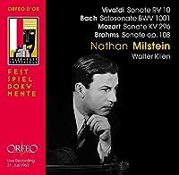 Sonate Rv 10 Solosonate Sona by VIVALDI / BACH / MOZART / BRAHMS; (2007-10-30)