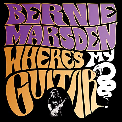 Where's My Guitar? audiobook cover art