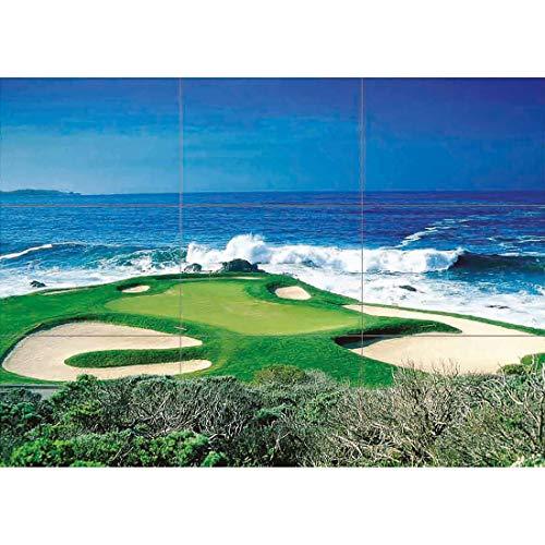 Doppelganger33 LTD Ocean Golf Course Scenic Giant Poster Print X1386