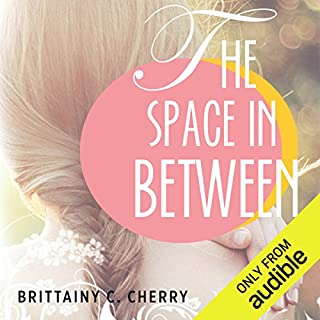 The Space in Between audiobook cover art