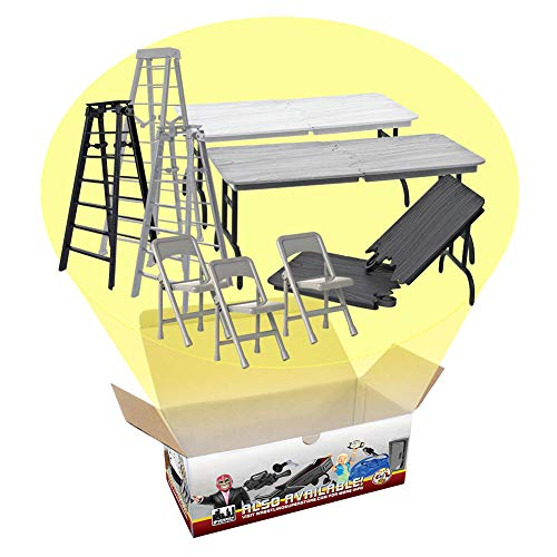 Tables, Ladders & Chairs Match Accessory Special Deal for Wrestling Action Figures