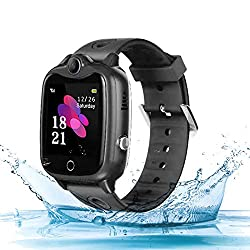 Hasde GPS Kids Smart Watch Phone Tracker Kids Waterproof Games Camera Kids Smart Watches Phone Call Kid GPS Watch Tracker 4G LBS Alarm Clock Pedometer to School Gifts for Students