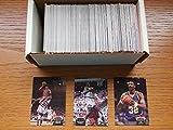 1992-93 Topps Stadium Club Basketball Set 1-400 (Premier Edition) includes Series 1 and 2 (Shaq Rookie Card) (Michael Jordan) (Magic Johnson) (Karl Malone) (Clyde Drexler) (Steve Kerr) and More