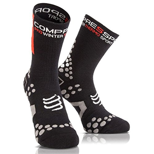 Compressport ProRacing Socks V 2.1 Winter Bike Black. Nieuw!, voetmaat: 45-47 (T4)