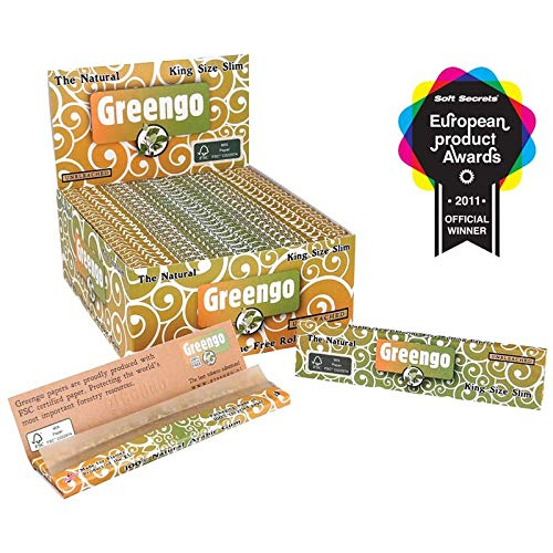 Greengo Products (KS Slim Unbleached Rolling Papers)
