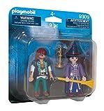 Playmobil 9309 Halloween Loup-Garou y bruja Playset