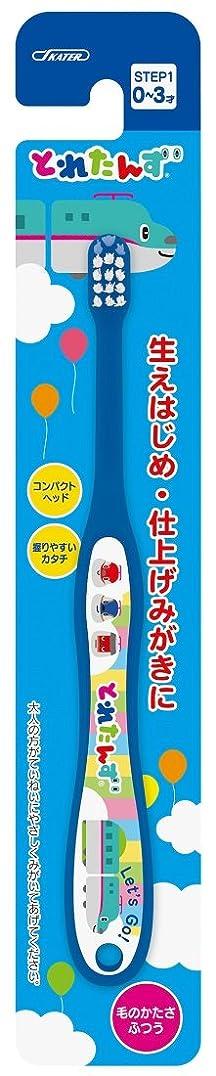 セントチャレンジ安らぎスケーター 歯ブラシ 乳児用 (0-3才) 毛の硬さ普通 15cm とれたんず TB4N