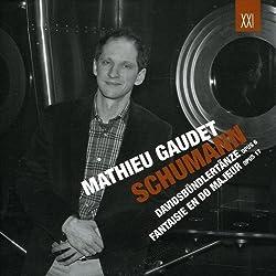 Schumann : Davidsbündlertänze, Fantaisie en do. Gaudet.