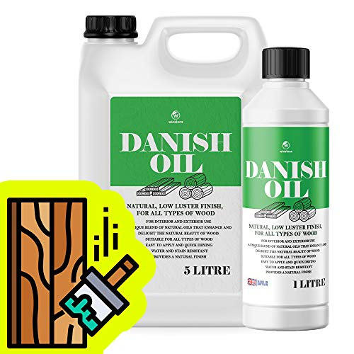 Winstons Danish Oil for Wooden Kitchen Worktops and Furniture (1 Litre)