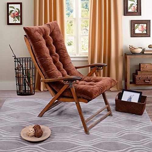 VIVOCFan Swing Zitkussen, voor binnen en buiten, dik zitkussen, chaislounger, zitbank, tuinkussens, kussen (zonder stoel)