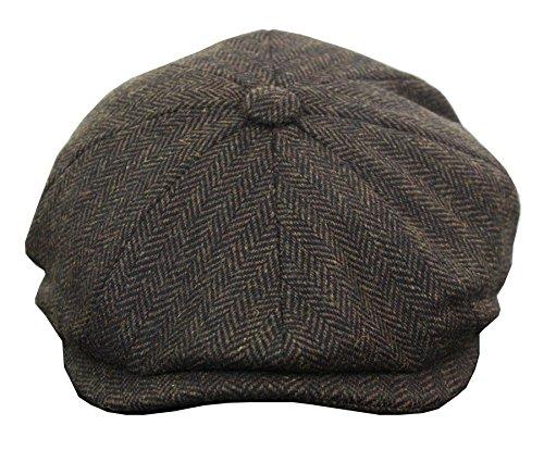 Herrenmütze Tweed Design Stil Kariert Preis Angebot
